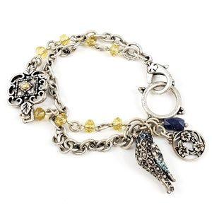Lucky Brand Jewelry - Lucky Brand Bracelet Bird + Flowers